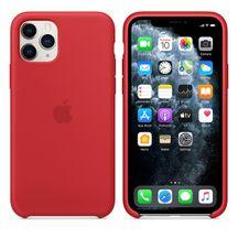 Capa-para-iPhone-11-Pro---Silicone-Vermelha