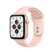 Apple-Watch-SE-GPS-44mm-Caixa-Dourada-de-Aluminio-com-Pulseira-Esportiva-Areia-Rosa