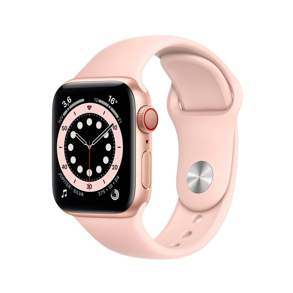 Apple-Watch-Series-6-GPS---Cellular-40mm-Caixa-Dourada-de-Aluminio-com-Pulseira-Esportiva-Areia-Rosa