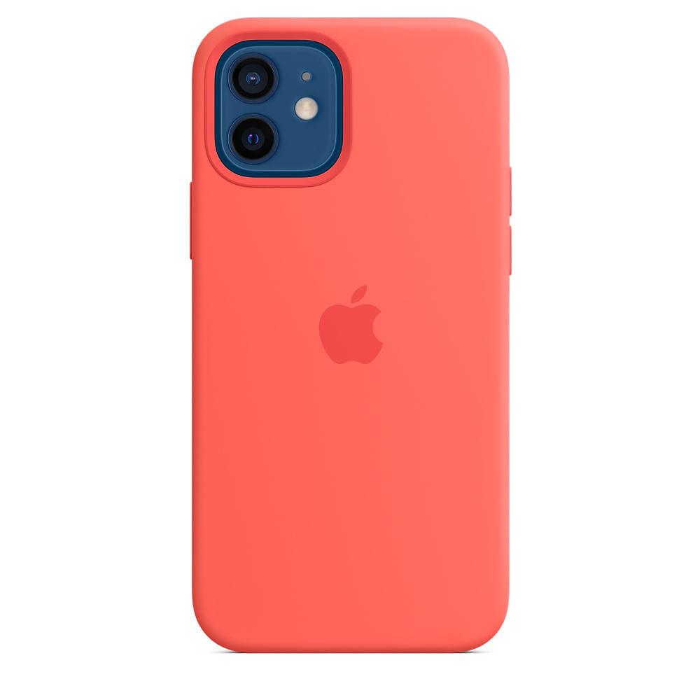 Capa-para-iPhone-12-Pro-Apple-Silicone-Rosa-Citrico