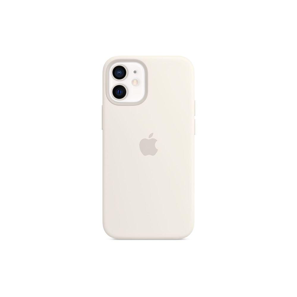 Capa-para-iPhone-12-Mini-Apple-Silicone-Branco