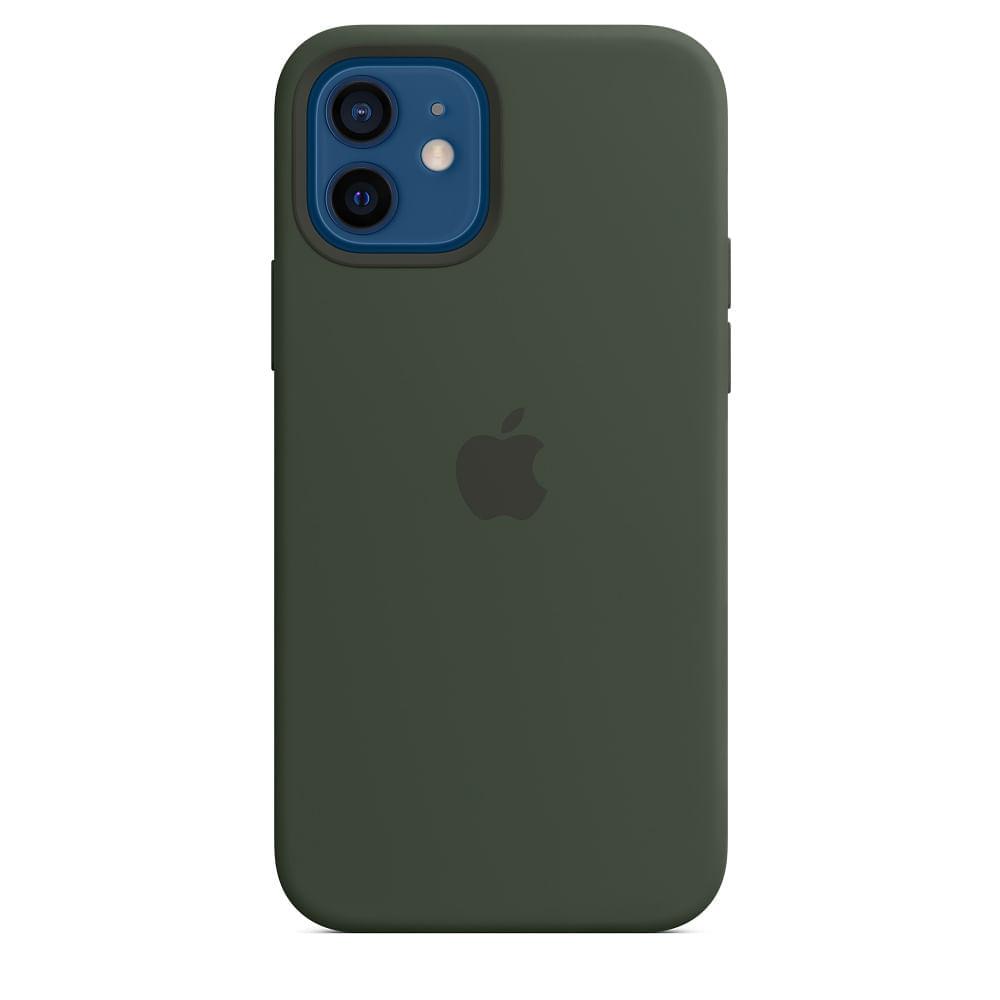 Capa-para-iPhone-12---12-Pro-Apple-Silicone-Verde-Chipre