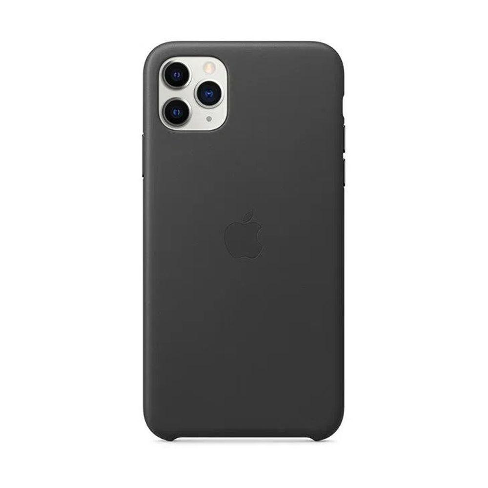 Capa-iPhone-11-Pro-Max-Apple-Couro-Preto