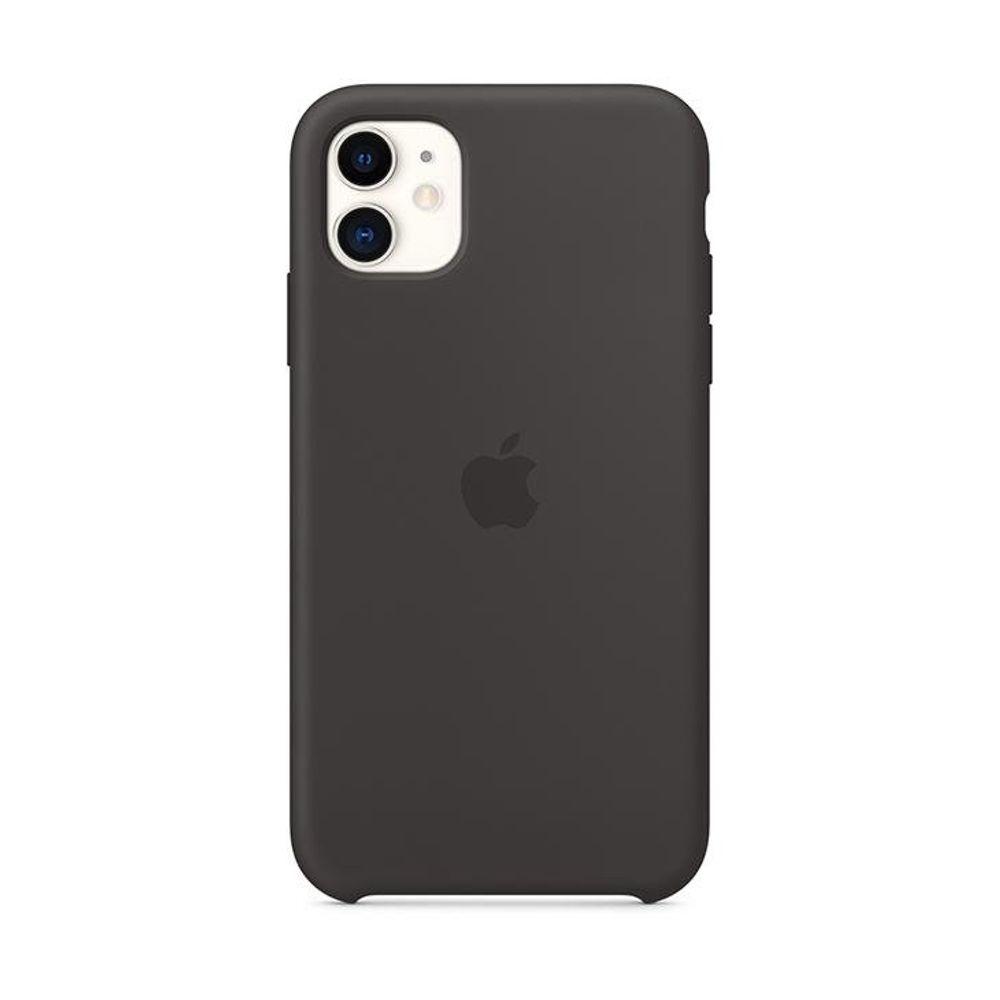 Case-iPhone-11-Apple-Silicone-Preto