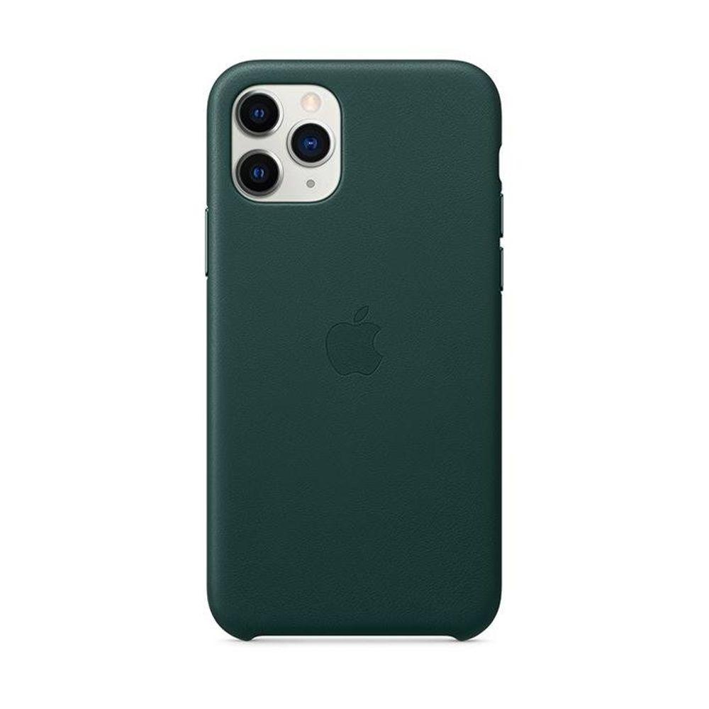 Capa-iPhone-11-Pro-Apple-Couro-Verde